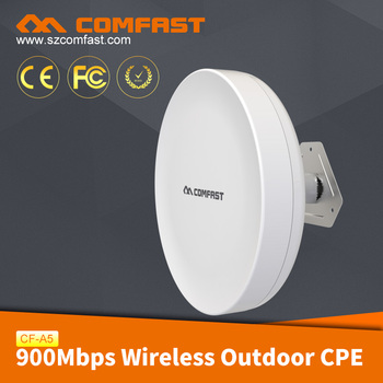 COMFAST CF-A5 High Power Long Range Wireless Outdoor 5.8G CPE, 900Mbps Outdoor WiFi Bridge Access Point