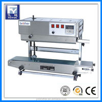 Pouch bag sealing machine for powder, liquid.