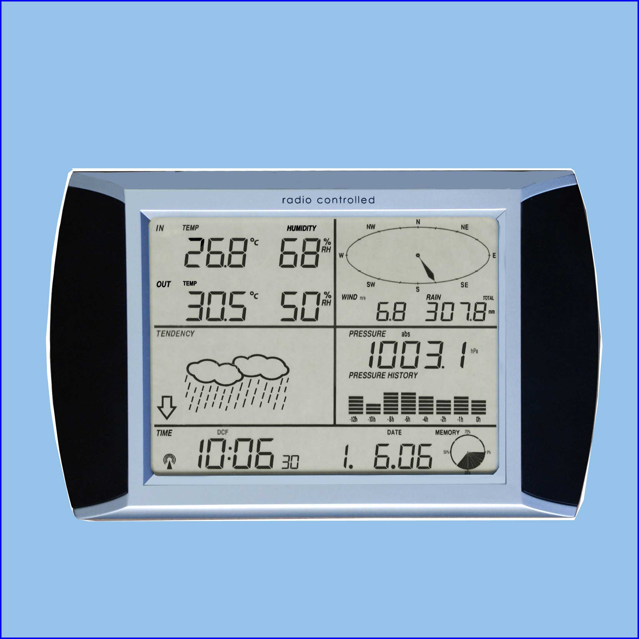 USB port weather station climate remote monitoring station