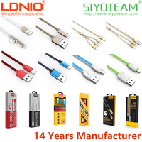 micro usb to usb cable LDNIO Fast Charge USB Cable for Android & IOS