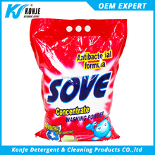 chemical formula of washing powder from konje factory