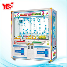 2015 Hot Sale Coin Operated Crane Game Double Gift Machine, Gift Toy Vending Machine(NF-P123)