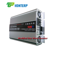 Industrial Modified Sine Wave Solar Power converter/UPS 1500W DC to AC