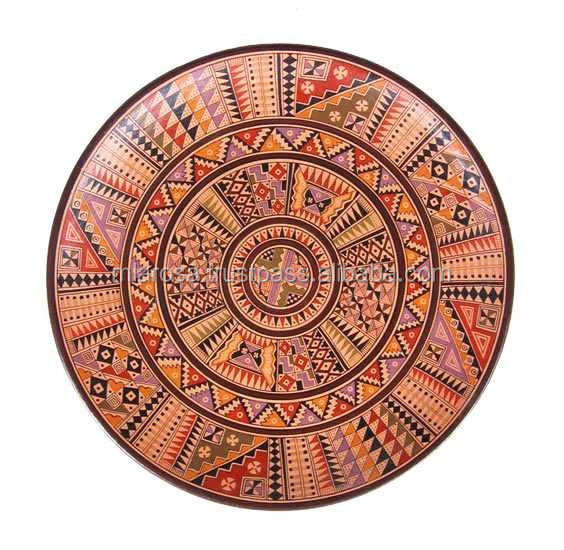 INCA DESIGN WOODEN DISH