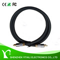 YITAILI Premium 1.5m Black Color toslink optical cable gold plated
