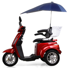 EEC 60km Range Per Charge 3 wheel electric handicapped motor scooter