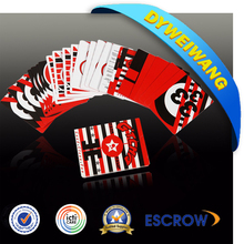 Customized and fashion card game printing/paper bingo card game
