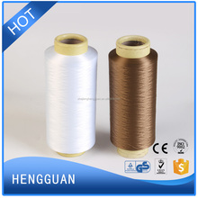 Polyester DTY yarn dope dyed for Knitting Sewing Weaving with good quality