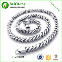 Hot products mens heavy stainless steel link chain necklace in roll