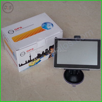 5inch Car gps navigator With DVR FM AV-IN Bluetooth ISDB-T Function