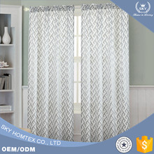 New product sheer curtains voile for home use