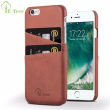 Hot sale premium vintage leather case for iphone 6 leather covers for apple iphones 6s back cover