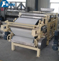 Carbon steel belt type dehydrator machines for sale,China hot sale slurry dewatering filter of continuous working