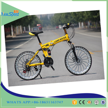 Student folding mountain bike 20 inch wheels suspension Mountain bicycle