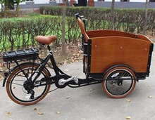 electric cargo bike China cargo rickshaw