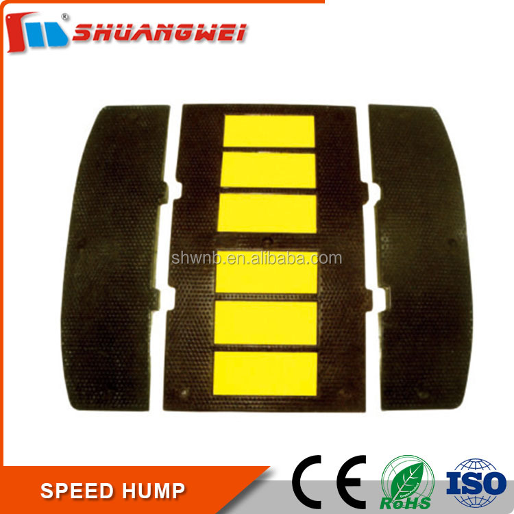 Good Reputation top Quality Yellow Reflectors rubber road hump