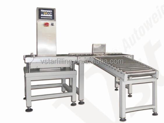 carton checkweigher, Beverage containers check weighing machine