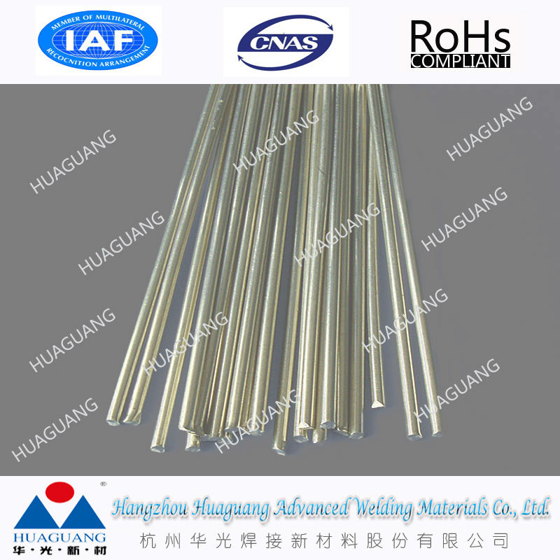BAg-28 welding rod 40%silver brazing filller metal silver-copper-zinc alloy
