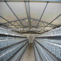 Hot sale stainless steel wire mesh A type chicken layer cages design