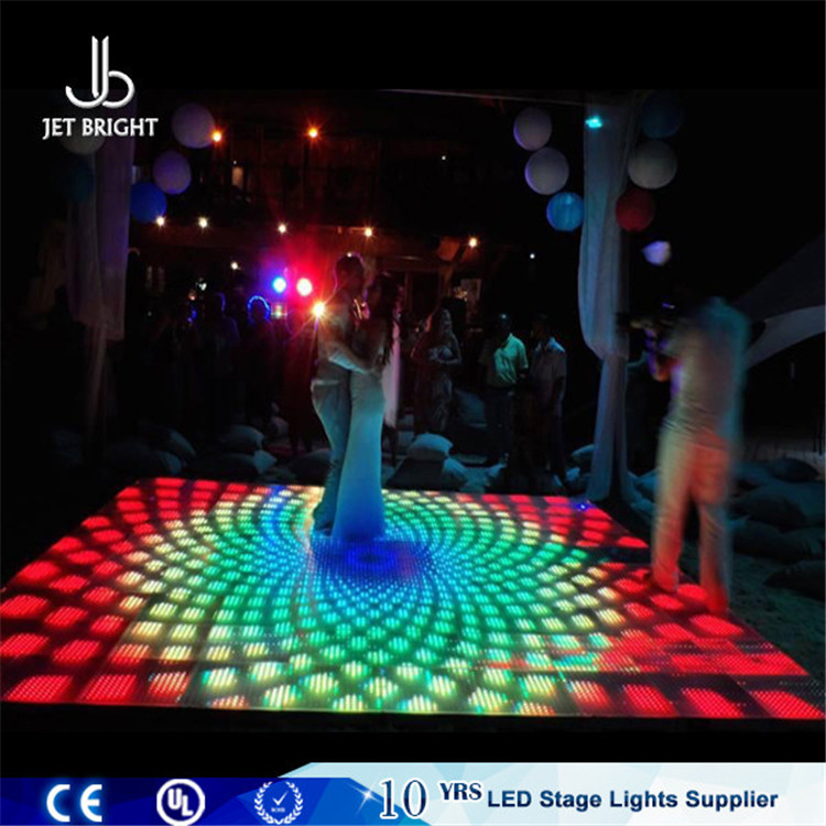 dubai led light dance floor disco party stage used interactive