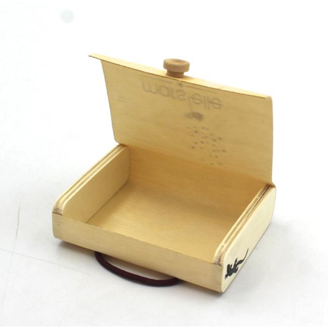 Birch Bark Box Wholesale Cork Business Card Holder Packaging Gift Wooden Box