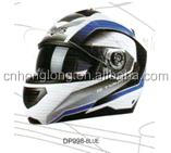 Popular design,DOT Approved Flip up helmet with Sun Visor