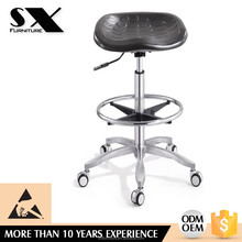 New design Industrial cheaper Lab Chair /ESD PU leather stool antistatic stool cleanroom YZ040