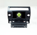 Quad core!car dvd with mirror link/DVR/TPMS/OBD2 for 7inch touch screen quad core 4.4 Android system Citroen C4(Black)
