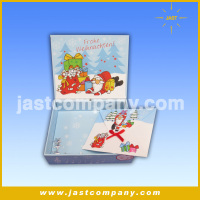 Decorative Christmas Sweet Boxes with music, Wire Decorative Christmas Gift Boxes with Music