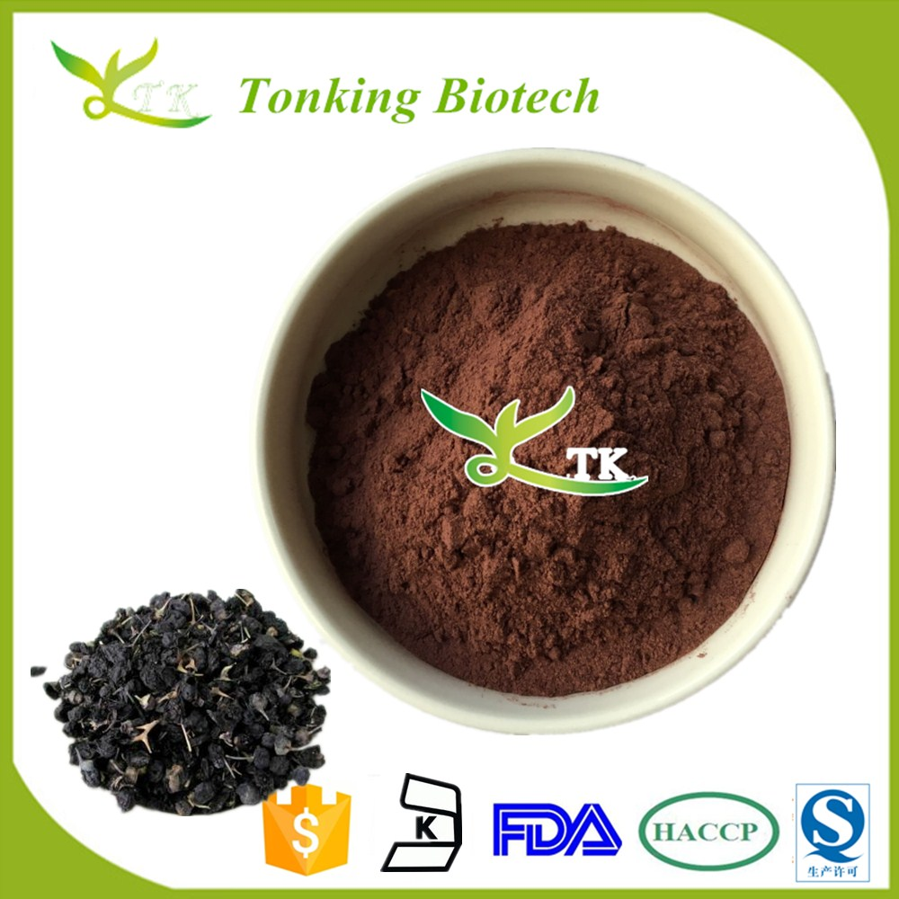 Black wolfberry extract powder 25% anthocyanidin