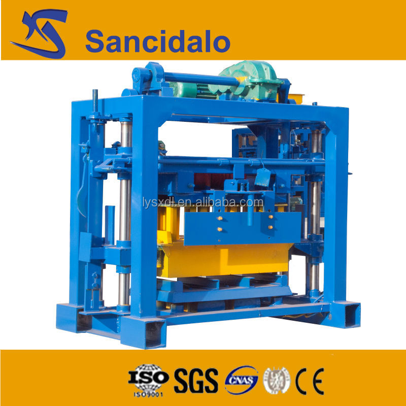 factory price QT40-2 cement block making machine florida price list