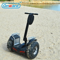 China wholesale price 21 inch big tyre off road wheel hoverboard on wheels, 2 wheel electric standing scooter with handle