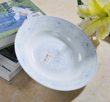 White glazed ceramic porcelain personalize plates for food