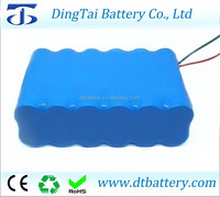 Li-ion 18650 11.1V 20Ah Lithium ion battery pack for LED ligth,Miner's lamp and emergency light