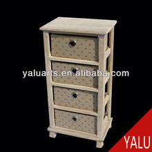 cabinet with basket drawers