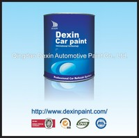 Hot gloss white metallic car paint