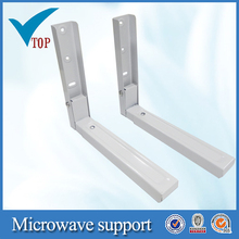 Cabinet hanging bracket for microwave support