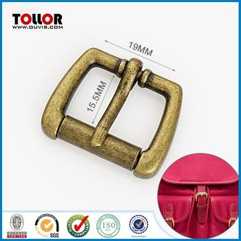 Brass Adjustable Pin Belt Buckle for Backpack