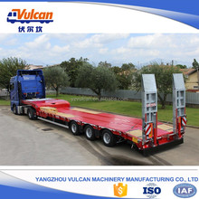 Supplier hot sale 20ft 40ft container flatbed trailers for tractors
