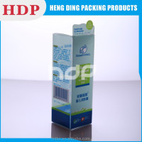 printed logo clear plastik box packaging box