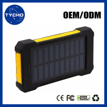 Waterproof Hiking Power Bank 20000mAh Rohs Solar Cell Phone Charger