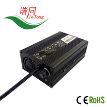 China factory S120 24V5A lifepo4 /li-ion/lead acid charger electric bike battery, golf cart battery with cable