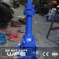"API 6"" inch Class 150LB Cast Steel WCB Flanged End Bellows Sealed Gate Valve"