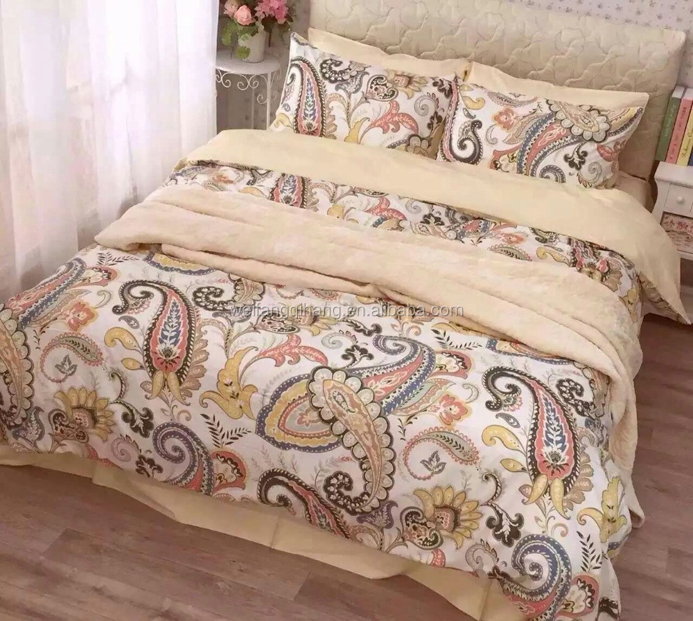 Ready <strong>fashion</strong> design <strong>100</strong>% cotton 300TC printed bedding set