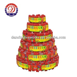 Hot Sell/All Red 5000S-1000000S Celebration Cracker Fireworks