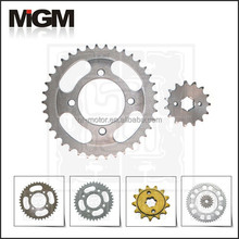 Motorcycle sprocket manufacture, for yamaha crypton parts