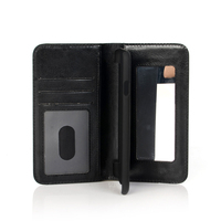Cheap PU mirror phone case wallet for iphone 6