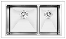 cadia double drainers 304 stainless steel trough sink