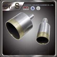 m14 thread diamond core drill bits for glass