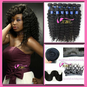 Most beautiful,deep wave,natural black,100% peruvian virgin human hair with the best feedback 1301